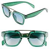 PRIVÉ REVAUX ICON Collection 'The Foxx' Designer Polarized Geometric Sunglasses