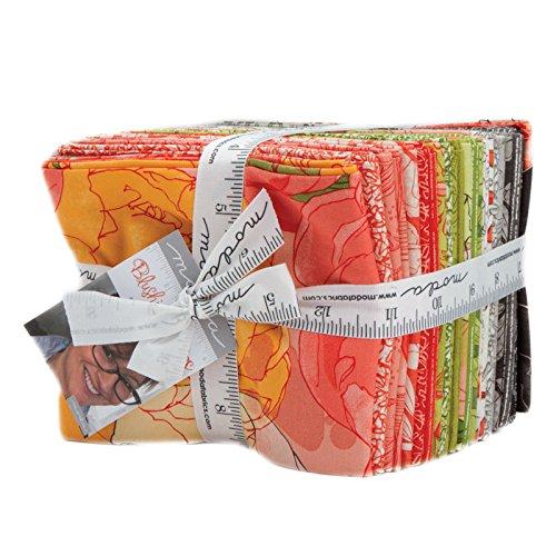 Blushing Peonies by Robin Pickens Fat Quarter Bundle, 25 Fabrics, Moda Fabrics 48610AB by Moda Fabrics