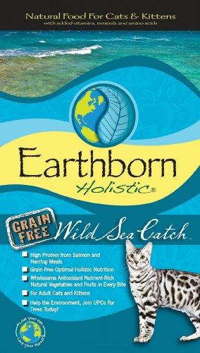 Earthborn Wild Sea Catch Feline 14 lbs, My Pet Supplies