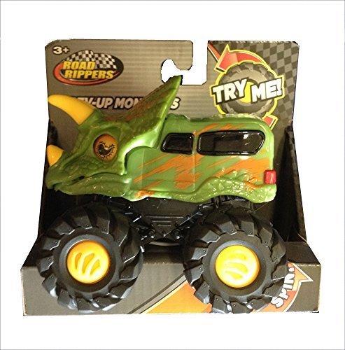 【送料0円】 Road Rippers Rev-up Monster Monsters Tricera Green Tricera B073CC9HNN Dino Monster Truck/Van B073CC9HNN, スノーボード 専門店 インパクト:72c3d27e --- a0267596.xsph.ru