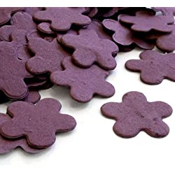 Purple 5-Petal Plantable Seed Confetti (two 350 piece bags = 700pcs)