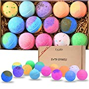 Bath Bombs Gift Set 14 - Bubble Bath Fizzies Natural Vegan Essential Oil Bubble & Spa Bath Fizz Balls Kit Handmade Bathbombs for Women/Men/Kids/Boys/Girls Dry Skin Moisturize, Birthday Gift