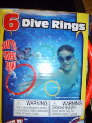 Grab N' Dive 6 Dive Rings