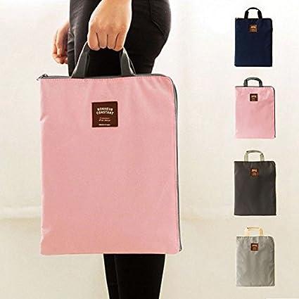 PerGrate Le portatif de sac à main de sac de document fournit la grande capacité pour l'étudiant d'école de bureau du papier A4