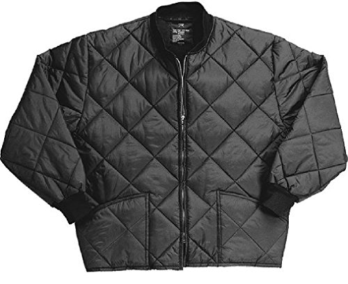 Classic Diamond Jacket Quilted Nylon Flight Military Coat ()