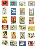 Brave love 24-pcs magnetic fridge magnets refrigerator sticker home decoration accessories magnet paste arts crafts (dog)