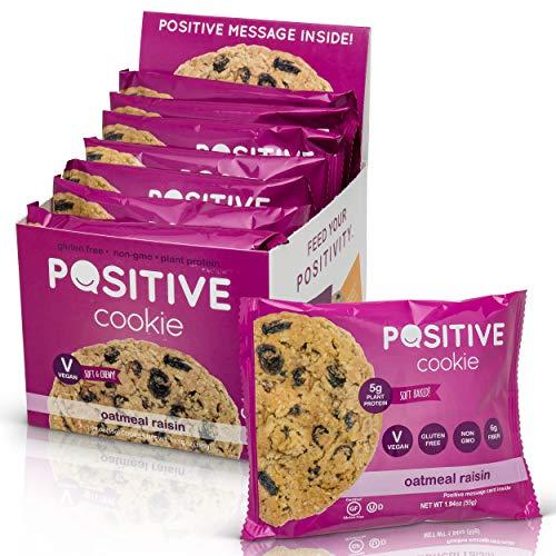 Oatmeal Raisin Gluten Free Kosher Vegan Protein Cookies (7 Cookies)