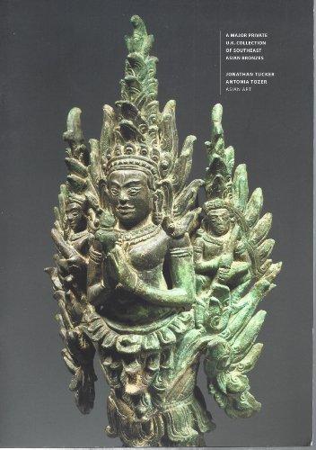 A Major Pivate U.K. Collection of Southeast Asian Bronzes : examples of Bronze Vajrasattva; Bronze Padmapani; Bronze Umamaheshvara on a Nandi; Bronze Bhairava;Bronze head of Dvarapala; Bronze Kaliya Krishna Finial; Bronze Yogini Oil Lamp (Head Finial)