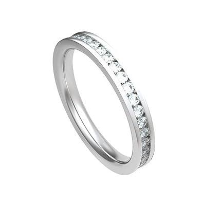 d18fe05b2e 0.80ct G/SI1 Diamant Ewigkeit Memoire Ring für damen mit Runder  Brillantschliff diamanten in