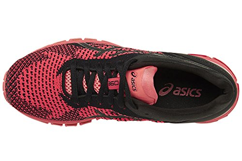 de Gel para Knit Quantum Asics Negro Zapatillas Entrenamiento 360 Mujer qZwXXFa