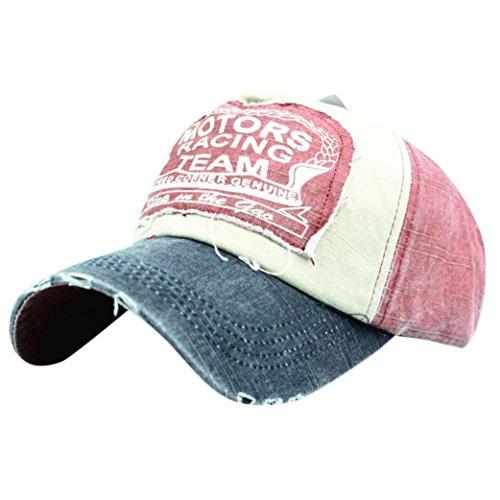 Cap Headgear Denim (Women Baseball Cap Topee Fashion Embroidered Flower Denim Cap by Limsea)