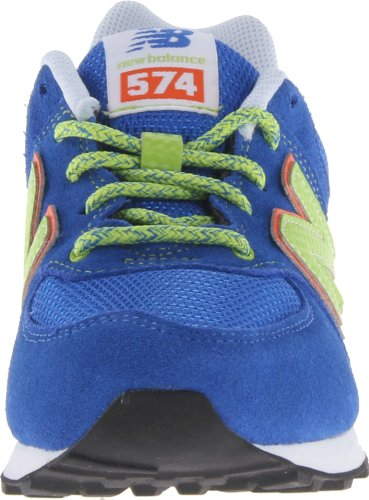 New Balance Classic Traditionnel Blue Youths Trainers Size 4.5 UK