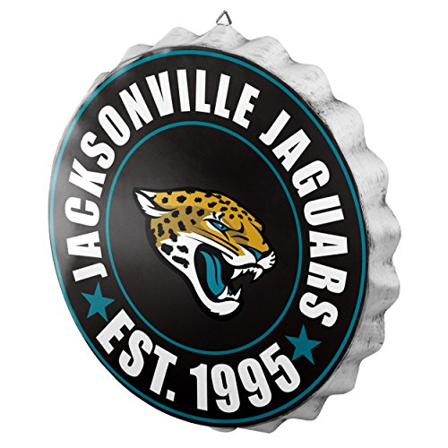 Jacksonville Jaguars 2016 Bottle Cap Wall Sign