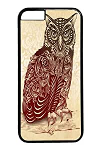 Case Cover For LG G3 , Case Cover For LG G3 -Most Ornate Owl Polycarbonate Hard Case Back Cover for Black