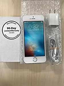 Apple iPhone 5s, 16GB - Straight Talk Locked (Silver)