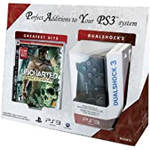 Uncharted: Drake's Fortune and DualShock 3 Bundle - Playstation 3