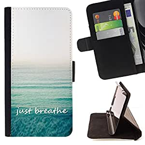 Jordan Colourful Shop - yoga calm exercise sea summer relax For Apple Iphone 6 - Leather Case Absorci???¡¯???€????€????????&ce