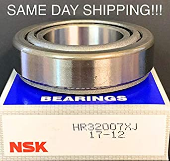 Nsk Hr32007xj Tapered Roller Bearings 35x62x18mm Same Day