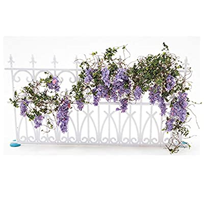 Creative Accents Dollhouse Miniature Wisteria Vine w/Purple Blooms: Toys & Games