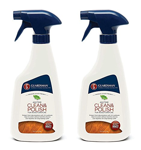 Guardsman Clean & Polish For Wood Furniture - Woodland Fresh - 16 oz Spray - Silicone Free, UV Protection - 461100 (2-(Pack)) by Guardsman (Image #3)