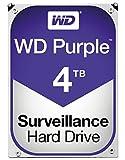 PC Hardware : WD Purple 4TB Surveillance Hard Disk Drive - 5400 RPM Class SATA 6 Gb/s 64MB Cache 3.5 Inch - WD40PURZ