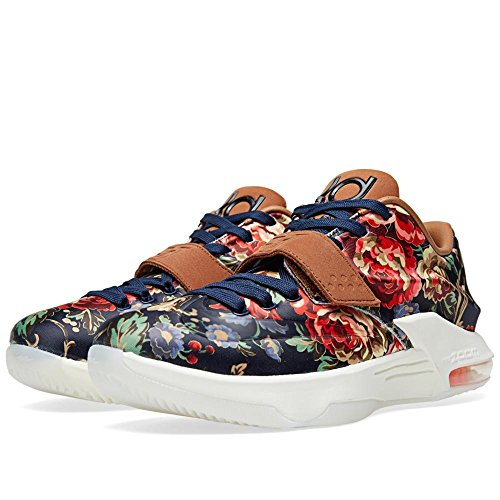 reputable site 353cb 957e4 Galleon - Nike Men s KD VII EXT FLORAL QS, MIDNIGHT NAVY BLACK-HAZELNUT, 10  M US