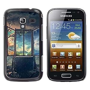 iKiki Tech / Estuche rígido - Art Deep Breathtaking Painting - Samsung Galaxy Ace 2 I8160 Ace II X S7560M