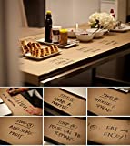 Kraft Paper Roll - Brown Craft Paper Table Cover