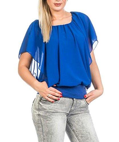 Muse - Camiseta sin mangas - para mujer azul cobalto