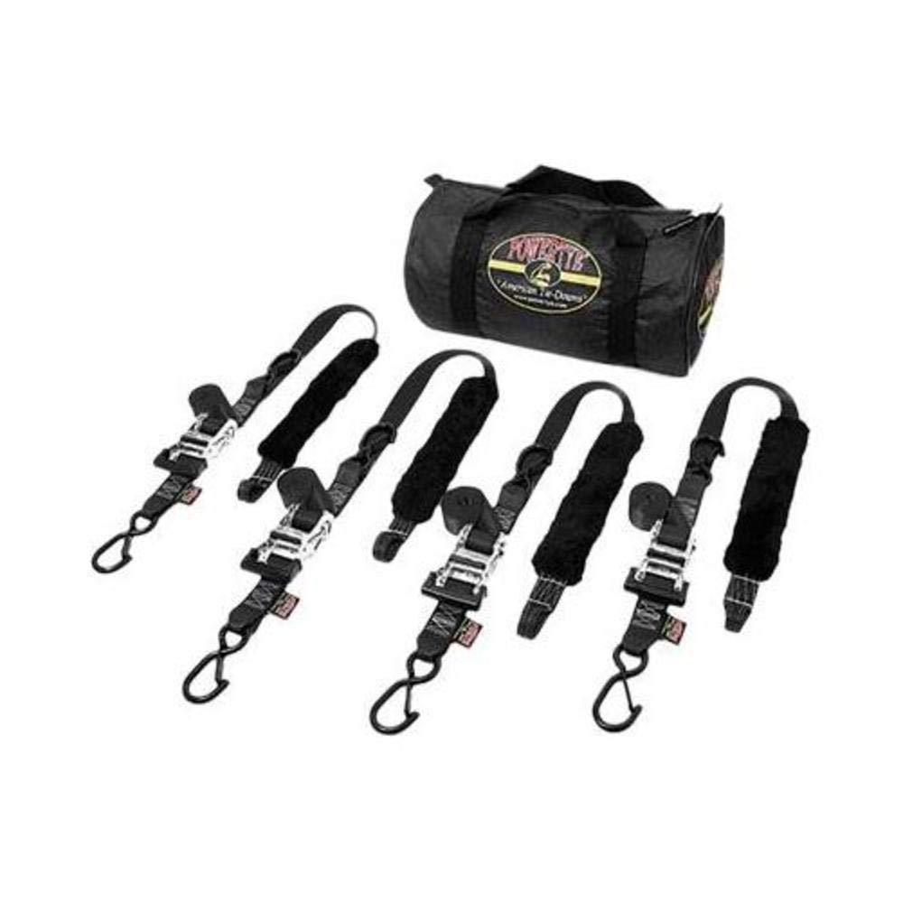 Black TRAILERKIT-82 CECOMINOD098494 Powertye Fat Strap Trailer Kit