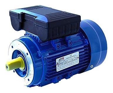 MOTOR MONOFASICO CON DISYUNTOR CENTRIFUGO 0,18KW 1500RPM 230V B14 T63 COLOR GRIS ATX: Amazon.es: Industria, empresas y ciencia