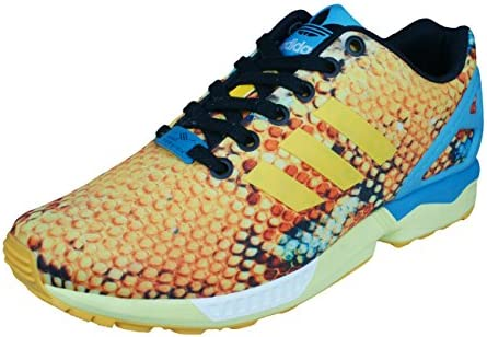 adidas Originals ZX Flux Womens TrainersShoes Gold 6.5