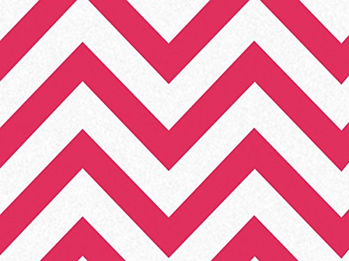 Red Wide Chevron Stripe 240~20''x30'' Sheets Recycled (240 Sheets) - WRAPS-P1345 by Miller Supply, Inc.
