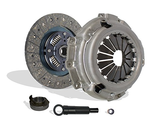 Clutch Kit Works With Ford Escort Escape Mercury Tracer Mazda Tribute Limited Sport XLS XLT DX ZX2 SE GS LS Trio Aust Deportivo Equi Mid 2.0L l4 GAS DOHC 2.0L l4 GAS SOHC Naturally Aspirated