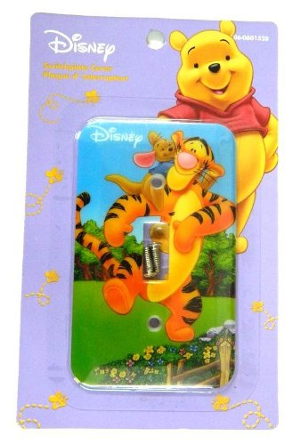 Pooh Switchplate (Disney WINNIE THE POOH- Tigger Light Switch Plate Cover)