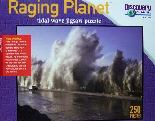 Raging Planet ~ Tidal Wave Jigsaw Puzzle