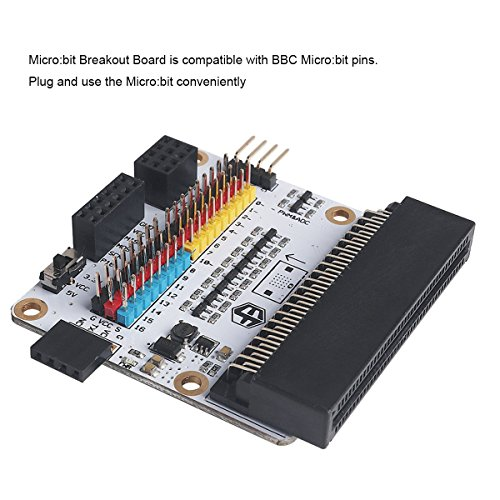Flight-sky Micro:bit Breakout Board (Octopus:bit) Solve Power Supply Matters Compatible with BBC Micro:bit Pins by Flight-sky (Image #3)
