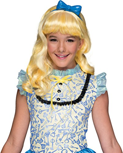 [Rubie's Costume Ever After High Blondie Lockes Child Wig] (Fun Halloween Costumes For Tweens)