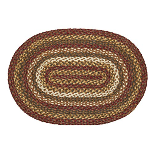 VHC Brands Cabin Jute Oval product image