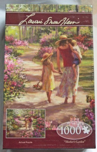 Mother's Garden 1000 Piece Jigsaw Puzzle (1637) - Laurie Snow - Laurie Snow