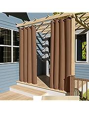 Clothink - Cortinas para exteriores, cortavientos, impermeables, protección visual, protección contra rayos UV