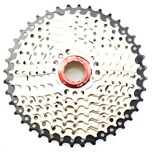 Rear Bike Cassette (9 Speed Cassette 11-40T MTB Cassette 9 Speed Fit for Mountain Bike, Road Bicycle, MTB, BMX, SRAM, Shimano)