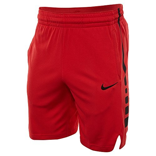 Style Mens Basketball Shorts (Nike Elite Stripe Short Mens Style: 831390-657 Size: L)