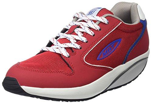 Mbt Womens 1997 W Sneaker, Blu Navy Rosso