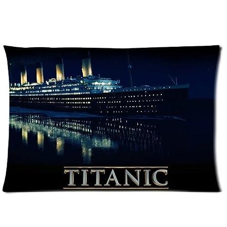 Amazon.com: New llegada fundas de almohada cover Titanic ...