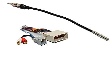 amazon com novosonics fdf 694 cr1 radio wiring harness for  wiring harness for audiophile sub help #5