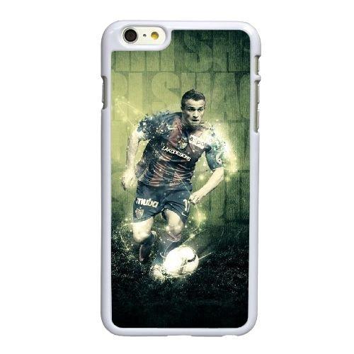 K2K47 FC Internazionale Milano Xherdan Shaqiri H6W7FK coque iPhone 6 Plus de 5,5 pouces cas de couverture de téléphone portable coque blanche FN3BMY4SS