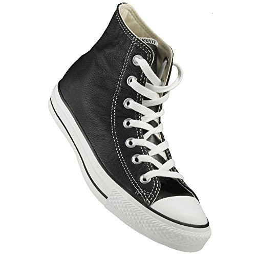 Women 4 6 Star Chuck Unisex Top Converse Taylor Black Men All Leather Hi Sneaker xSOAqwHfq