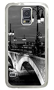 Urban Landscape PC Transparent Hard Case Cover Skin For Samsung Galaxy S5 I9600