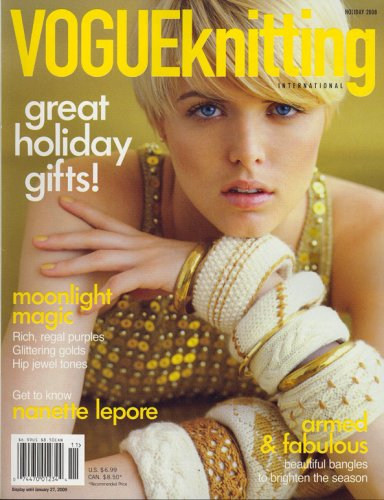 Vogue Knitting, Holiday 2008 Issue